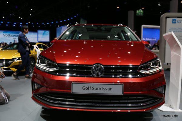 VW Golf Sportsvan Frontansicht