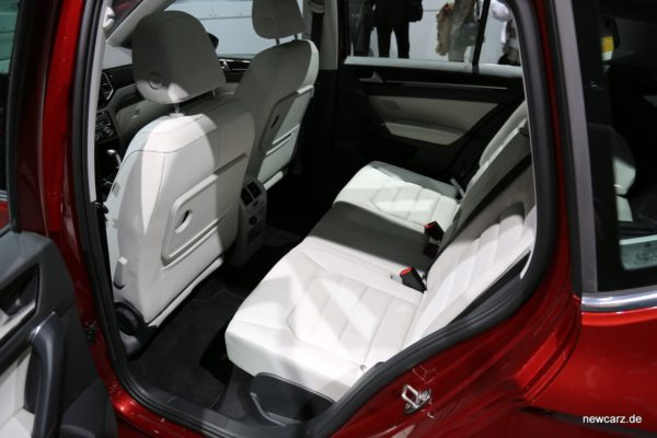VW Golf Sportsvan Rückbank