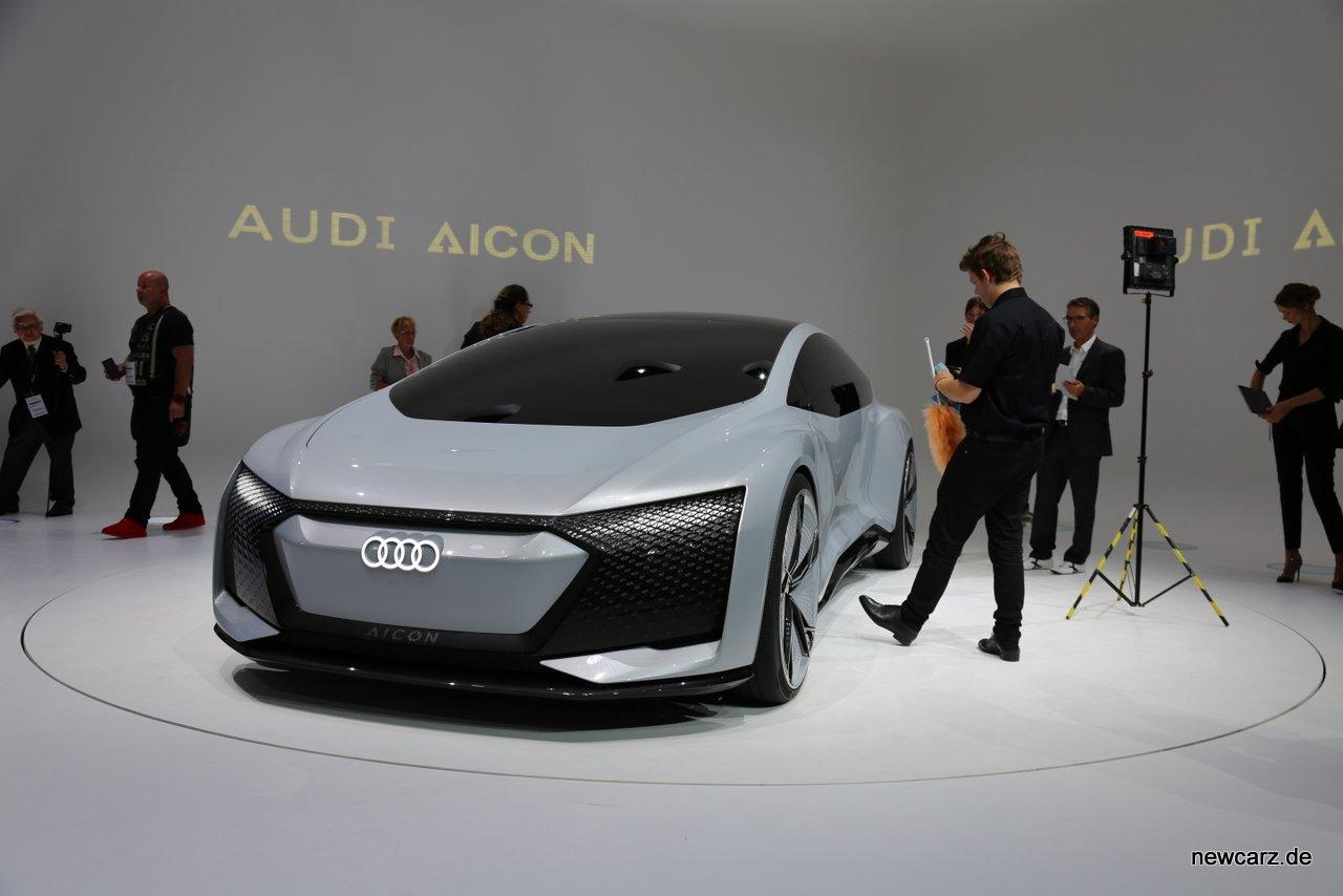 Audi Aicon Concept Front