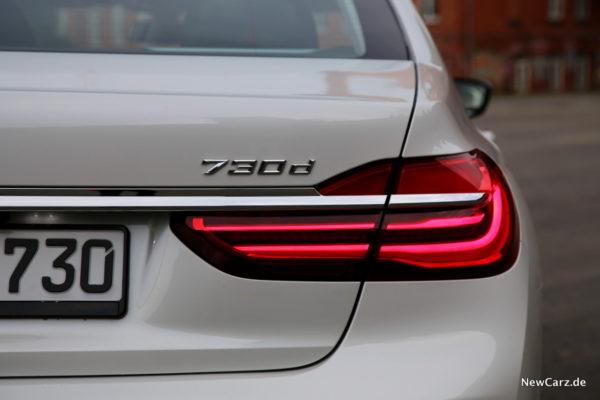 BMW 730 G11 Heck