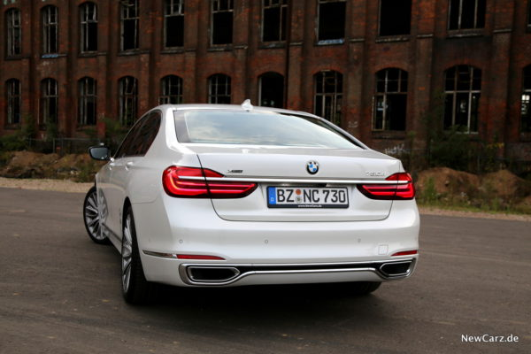 BMW 730d xDrive Heck