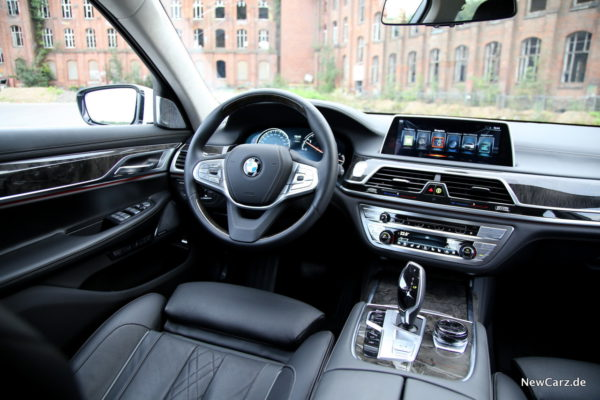 BMW 730d xDrive Interieur