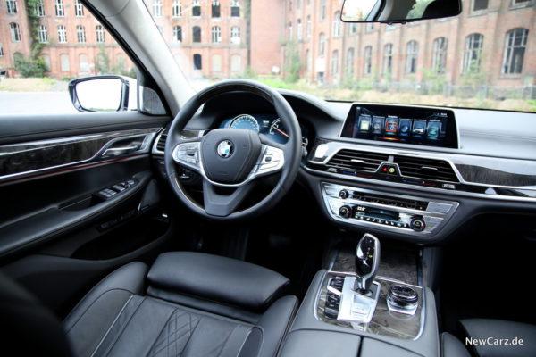 BMW 730d xDrive Interieur