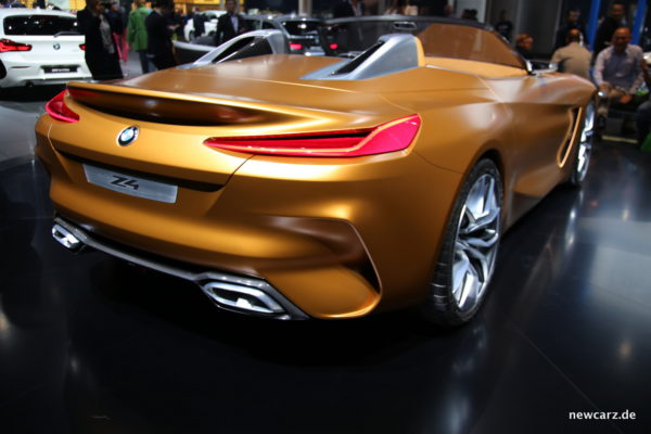 BMW Z4 Concept Heck
