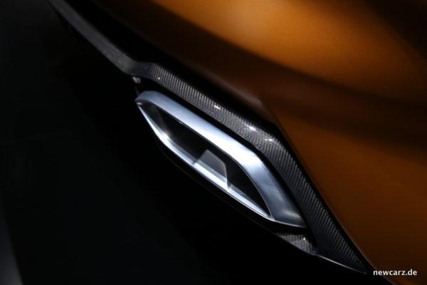 BMW Z4 Concept Auspuffanlage