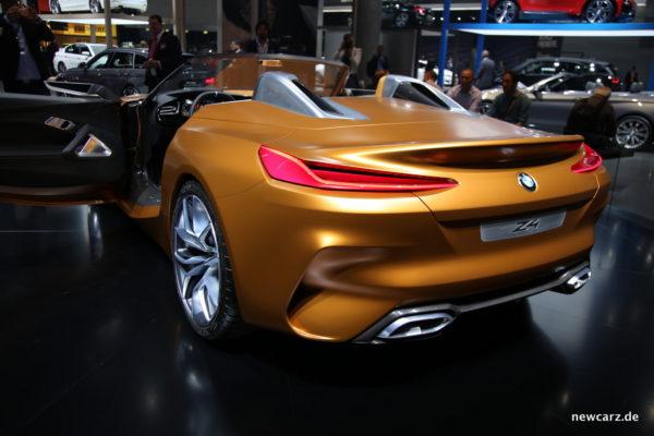 BMW Z4 Concept Heck