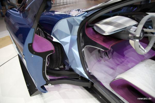 Borgward Isabella Concept Schwenktüren