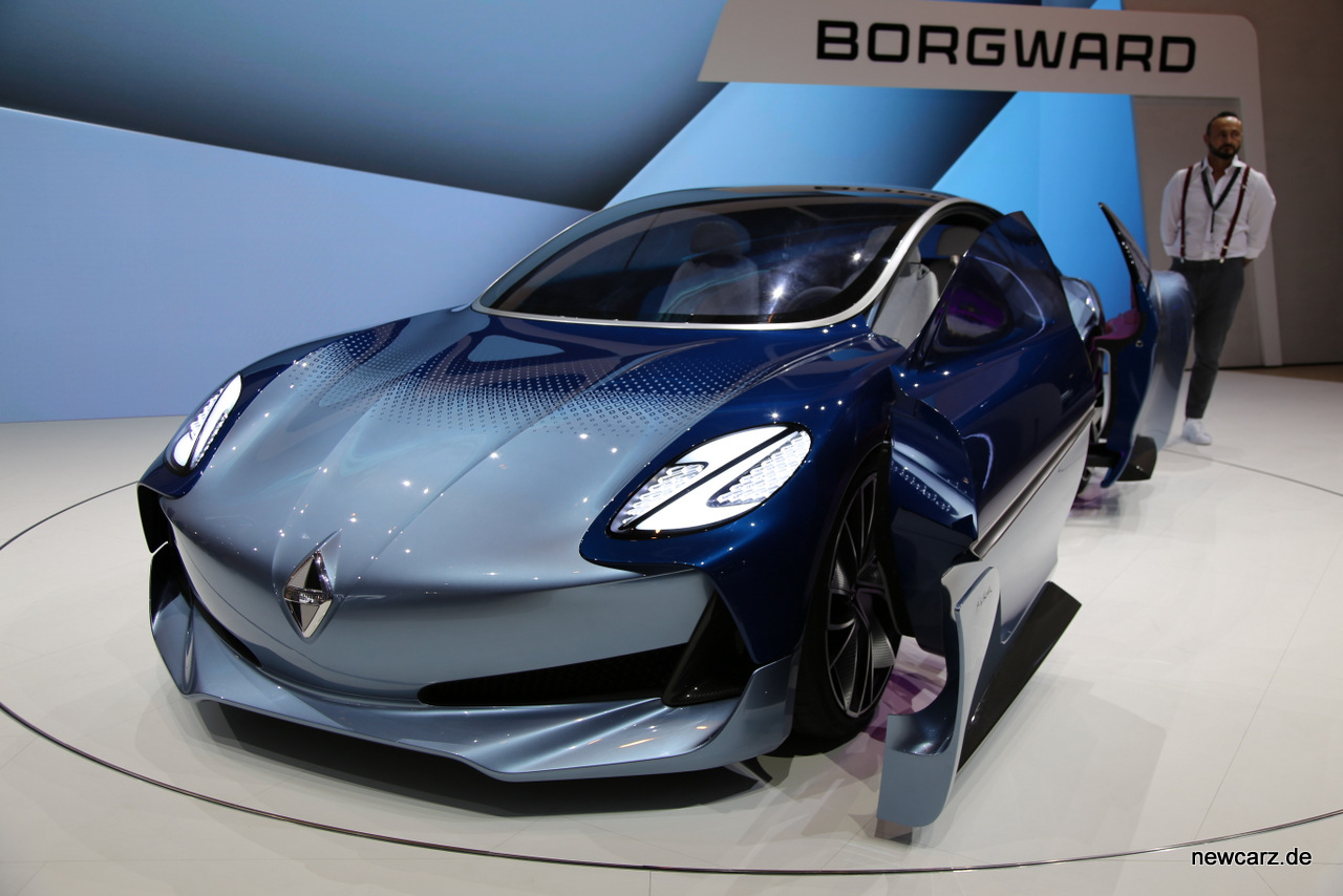 Borgward Isabella Concept Frontansicht
