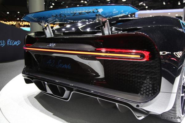 Bugatti Chiron Heck