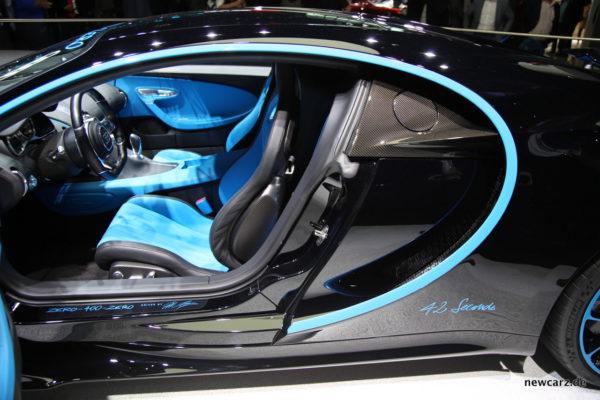 Bugatti Chiron Seite