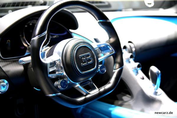 Bugatti Chiron Lenkrad