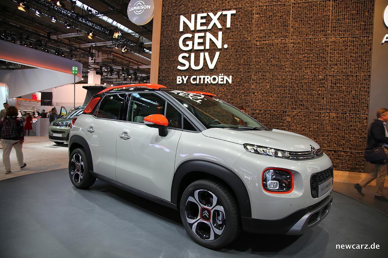 Citro 235 N C3 Aircross Farbenfrohes Compact Suv Newcarz