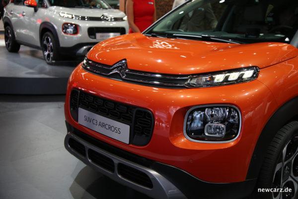 Citroën C3 Aircross Front