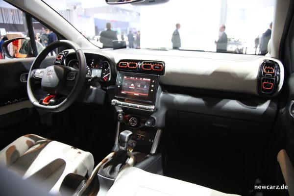 Citroën C3 Aircross innen