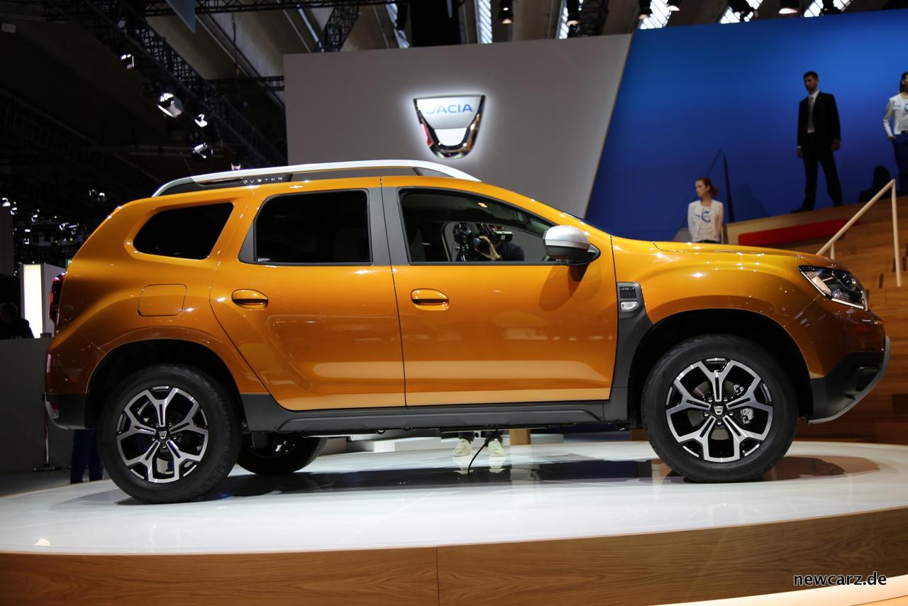 Dacia Duster Seite IAA