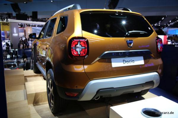 Dacia Duster Heckleuchten Heck