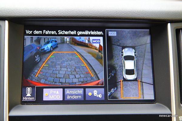 Infiniti Q60 Rückfahrkamera