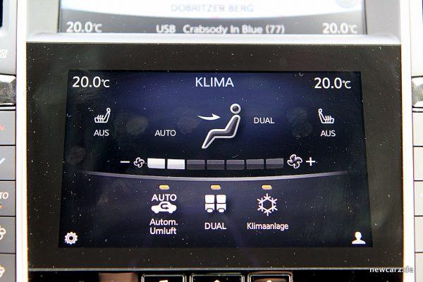 Infiniti Q60 Klima