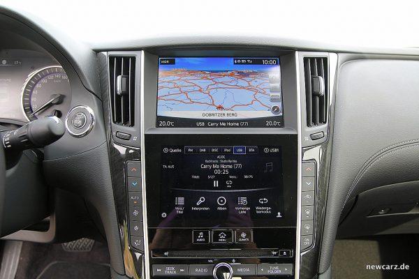 Infiniti Q60 Touchscreens