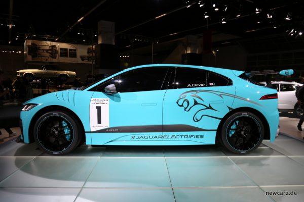 Jaguar i-Pace e-TROPHY Seite