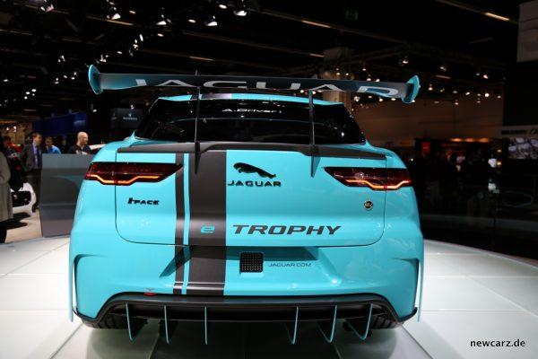Jaguar i-Pace e-TROPHY Heck
