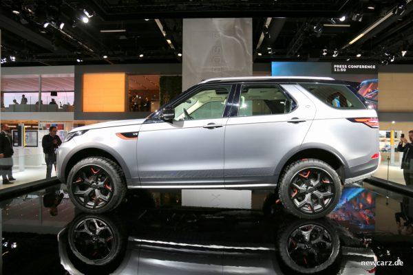 Land Rover Discovery SVX Seite Studie