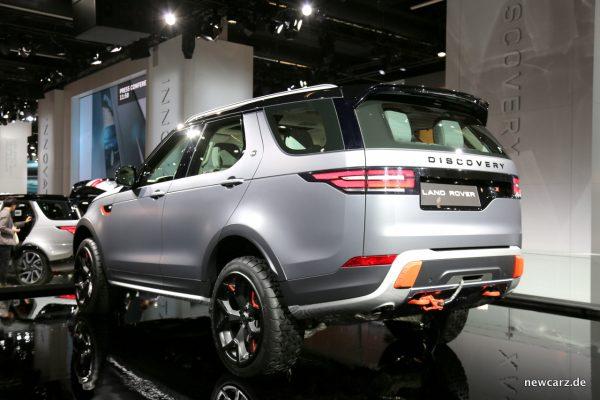 Land Rover Discovery SVX schräghinten