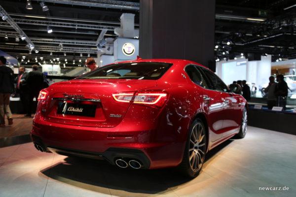 Maserati Ghibli 2018 Heck