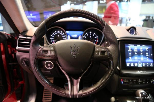 Maserati Ghibli 2018 Lenkrad