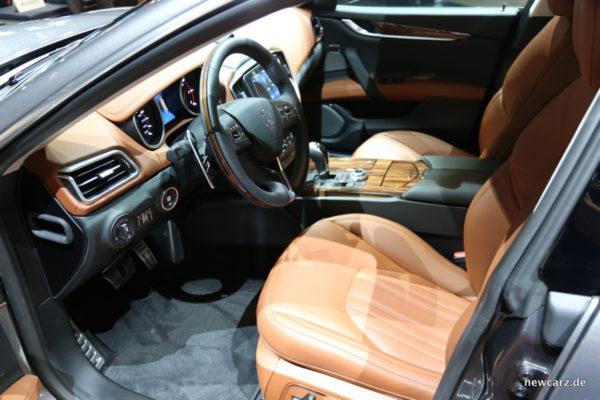 Maserati Ghibli 2018 GrandLusso Innen