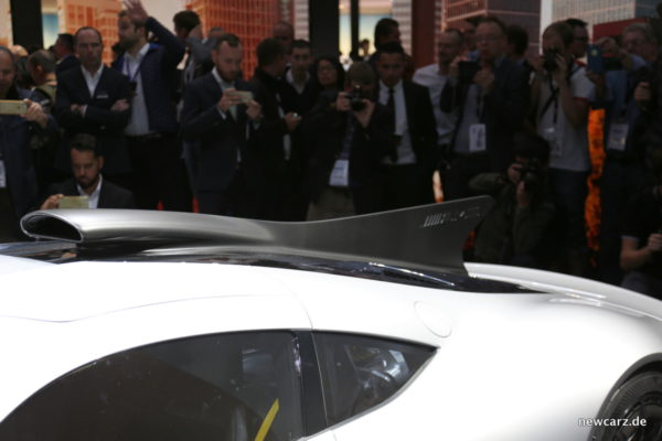 Mercedes-AMG Project One Hitze