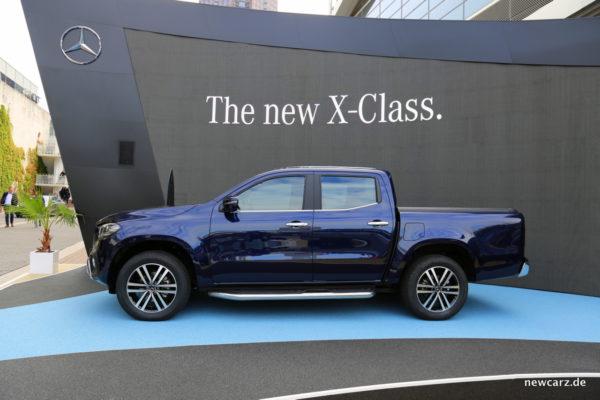 Mercedes X-Klasse Seite