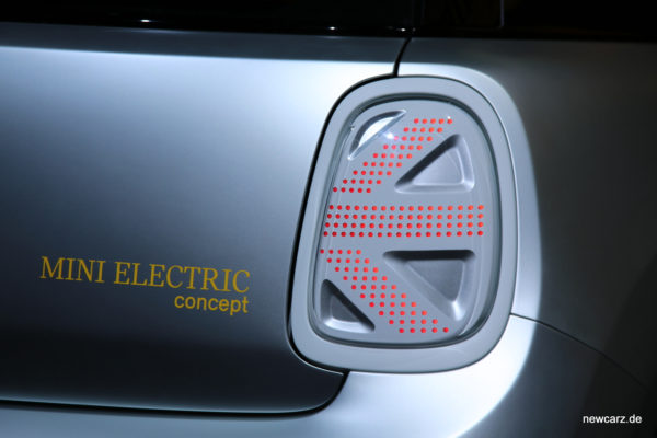 Mini Electric Concept Heckleuchten