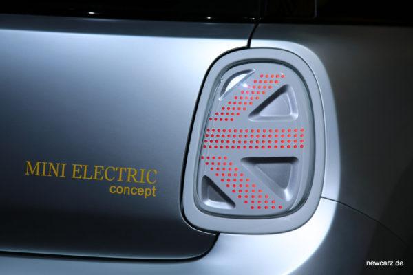 Mini Electric Concept Heckleuchten