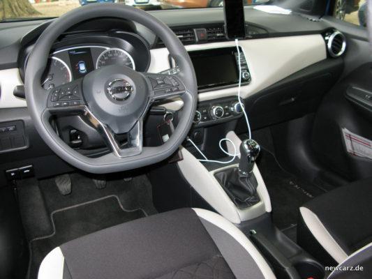 Nissan Micra Innen