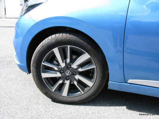 Nissan Micra Seite
