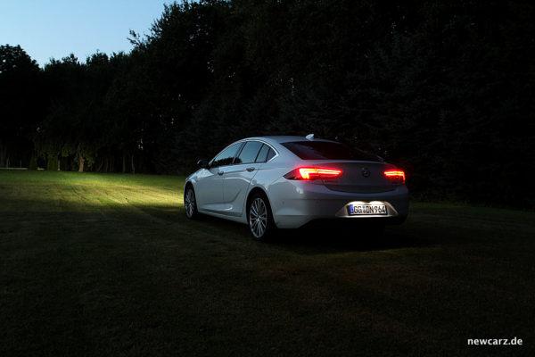Opel Insignia schräg hinten dunkel