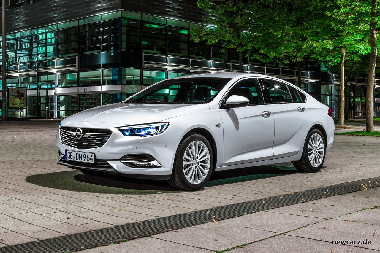 Opel Insignia Mit Voller Kraft Auf Kurs Newcarz De