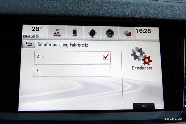 Opel Insignia Komfortausstieg