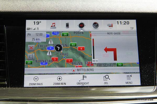 Opel Insignia Touchscreen