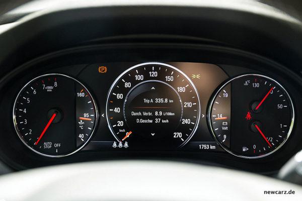 Opel Insignia Verbrauch