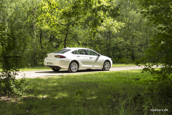 Opel Insignia schräg Seite