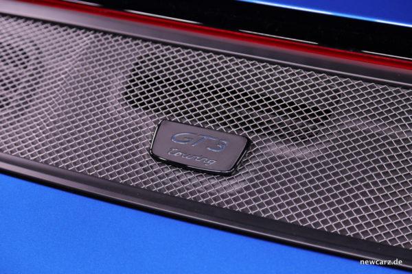 Porsche GT3 mit Touring Paket Intarsie