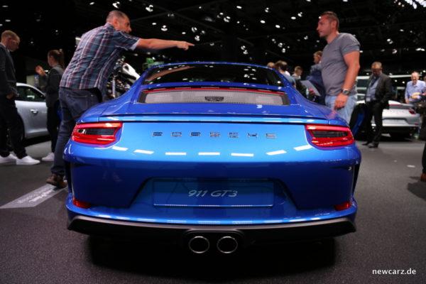 Porsche GT3 mit Touring Paket Heck