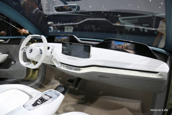 Skoda Vision E Cockpit