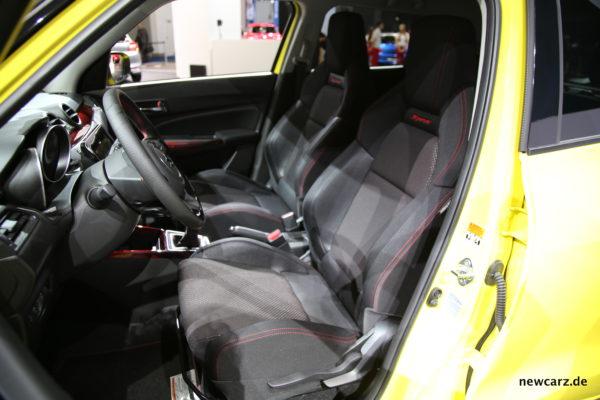 Suzuki Swift Sport Sitze