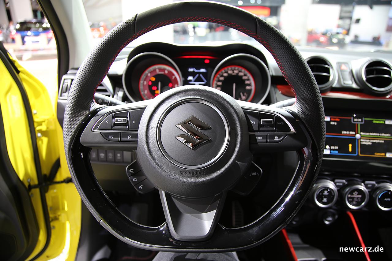 Suzuki Swift Sport - Weltpremiere des Hot Hatch - Newcarz