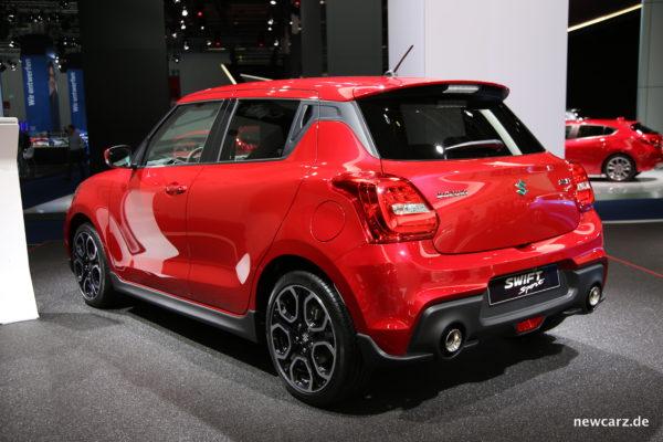 Suzuki Swift Sport Seite