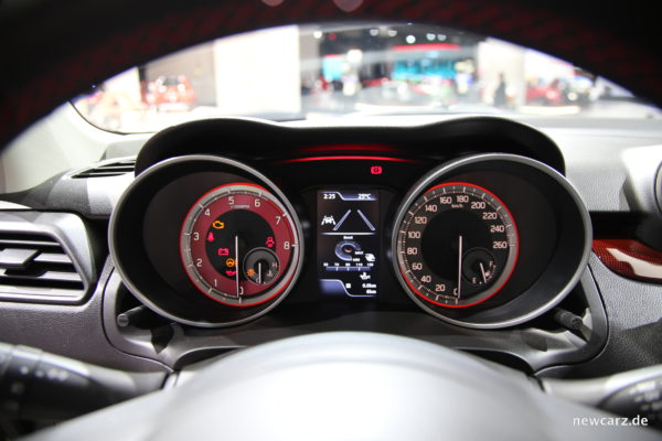Suzuki Swift Sport Cockpit