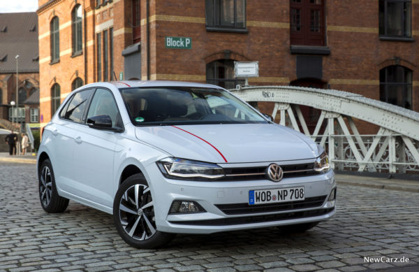 VW Polo Beats 2017 Front
